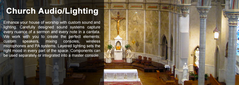 Church Audio and Lighting